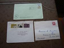 PAYS-BAS - 3 enveloppes (cy87) netherlands