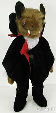 KOSEN Made in Germany NEW Fantasy Vampire Bat Plush Toy in Period Costume & Cape
