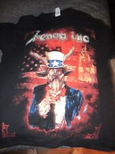 venom Inc shirt black metal Large mantas abaddon tony Dolan official us tour