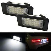 2 x LED Error Free License Plate Light Lamp for BMW 5Series E39 E60 E61 F10 New