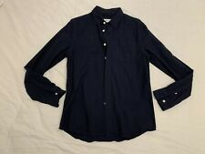 Surf Saturdays NYC Navy Cotton Shirt - RRP $199