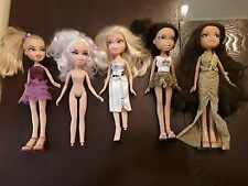 Mixed Lot Of  5 BRATZ Dolls