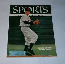 1955 Sports Illustrated HERB SCORE Cleveland Indians !!!