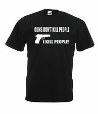 GUN RIFLE funny gift NEW Men Women T SHIRTS TOP size 8 10 12 14 16 s m l xl xxL