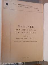 MANUALE DI DIRITTO CIVILE E COMMERCIALE Diritto Commerciale Simone 1974 corso