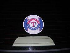 Texas Rangers small auto exterior window film