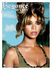 Beyonce Bday Learn to Play R&B Pop DÉJÀ VU PIANO Guitar PVG Music Book