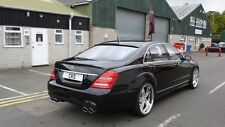 Mercedes W221 S Class Boot Trunk Lid Spoiler S320 S350 S500 S550 S600 S63 S65