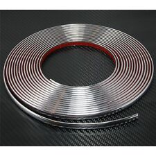 12mm x 8m CHROME CAR STYLING MOULDING STRIP TRIM ADHESIVE
