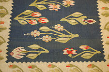 c1900s ANTIQUE RARE SIZE BESSARABIAN KILIM RUG 1.8x1.8 ONE OF A KIND_COLLECTABLE
