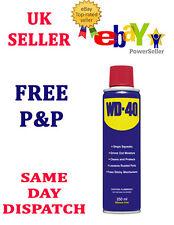 Wd40 250 Ml Aerosol Penetrating Silicone Oil Maintenance Lubricant Spray