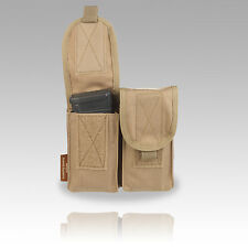 TAS - DBL SHARP SHOOTERS MAG MOLLE POUCH L129A1 NATO 7.62mm, AIRSOFT, WEBBING
