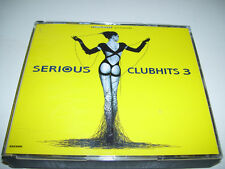 Turn Up The Bass Presents Serious Clubhits 3 * ARCADE 2CD 1994 *