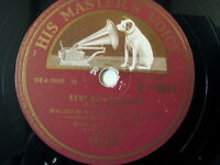 """78 rpm 10"""" MALCOLM VAUGHAN evry day of my life / mama"""