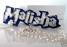 Custom Made Personalized Name Necklace - Pendant - Custom cut acrylic Jewelry