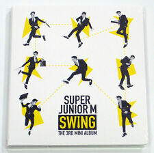 Super Junior M - Swing (3rd Mini Album) CD+Photocard+Gift Photo KPOP K-POP