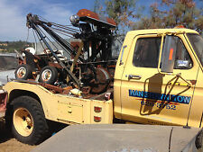 TOW TRUCK HOLMES 500 TWIN LINE WRECKER  W/ZACKLIFT WHEEL LIFT  BED ASSY ONLY
