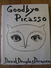 Goodbye Picasso, 1st Ed., David Douglas Duncan ,Grossett & Dunlap, 1974