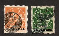 Bavaria - Sc# 273 & 274 Used    /     Lot 0520722