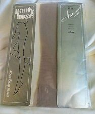 "Nip Vintage~1 pair~Hanes Eveningstar Pantyhose~Size Petite~Color Name ""Silver"""