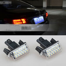 2x Bright Led SMD License Number Plate Light No Error For Toyota Camry 2012-2016