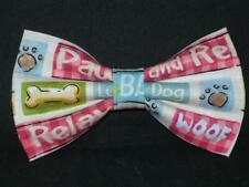 Dog Lover Bow tie / Funny Phrases / Veterinarians / Groomers / Pre-tied Bow tie