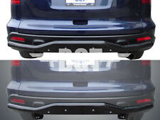 BGT 2007-2011 HONDA CRV REAR SINGLE TUBE WITH SKID PLATE BUMPER GUARD B/K