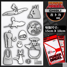 My Neighbor Totoro Metal Sticker Badge Phone Sticker One Set