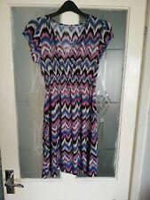 Women's aztec style autumn dress size 12