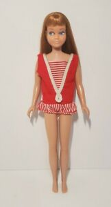 Vintage 1960's Mattel Skipper Doll Red Auburn Hair OSS 60s Item 1