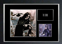 THE CROW MOVIE AUTOGRAPHED MOUNTED PRINT