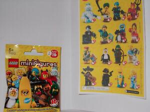 LEGO 71013 MINIFIGURE Série 16 GUERRIER du DESERT N 2   NEUF jamais ouvert NEW
