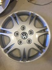 "4 - VW PASSAT JETTA GOLF 15"" HUBCAP HUB CAP WHEELCOVER WHEEL COVER W/DECAL"