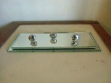 porte photo  moderniste en miroir et bronze chromé   VTF