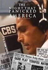 The Night That Panicked America (DVD, 2014)
