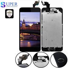 Display für iPhone 6 Plus mit RETINA LCD Glas Scheibe VORMONTIERT Schwarz Kamera