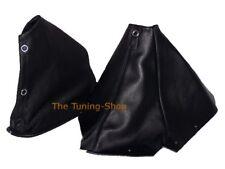 Gear & Handbrake Boot For Nissan Skyline R34 1998-2002 Leather