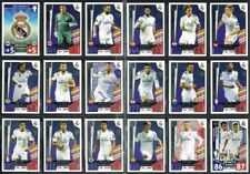 Real Madrid Match Attax Game Football Trading Cards