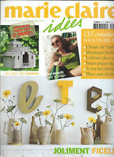 MARIE CLAIRE IDEES N°79 JUILLET  2010  REVUE 135 creations FICELLE CABANES