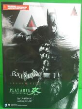 BATMAN ARKHAM CITY PLAY ARTS KAI No. 7 1970' s Batsuit Skin Costume classico