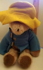 """Vintage 1975 Paddington Bear Plush Darkest Peru to London Eden Toys w/Tag 14"""""""