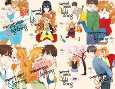 Sweetness and Lightning MANGA Series Collection Set Books 1-8 by Kodansha Usa