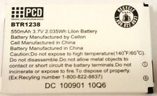 PCD Audiovox E71 Mini E1000 Slider Standard Battery BTR1238 550mAh Replacement