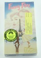 Funny Face VHS Audrey Hepburn Fred Astaire 1956 Brand New Tape Home Video