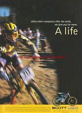 Scott USA Bike 1999 Magazine Advert #2943
