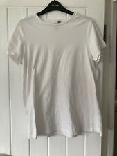 ASOS White Maternity T Shirt UK12 EU40
