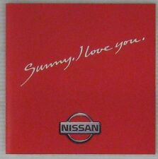 Nissan CD Publicitaire Sunny I love you