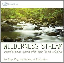 SOUND OF WATER CD -Water Sounds, Babbling Brook, Soothing Streams & River Sounds