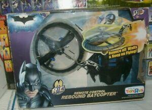 "2008 Mattel BATMAN TYCO REMOTE CONTROL R/C REBOUND BATCOPTER toys""r""us open box"