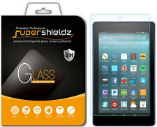 2X Supershieldz Amazon Fire HD 8 Tempered Glass Screen Protector (2017 release)